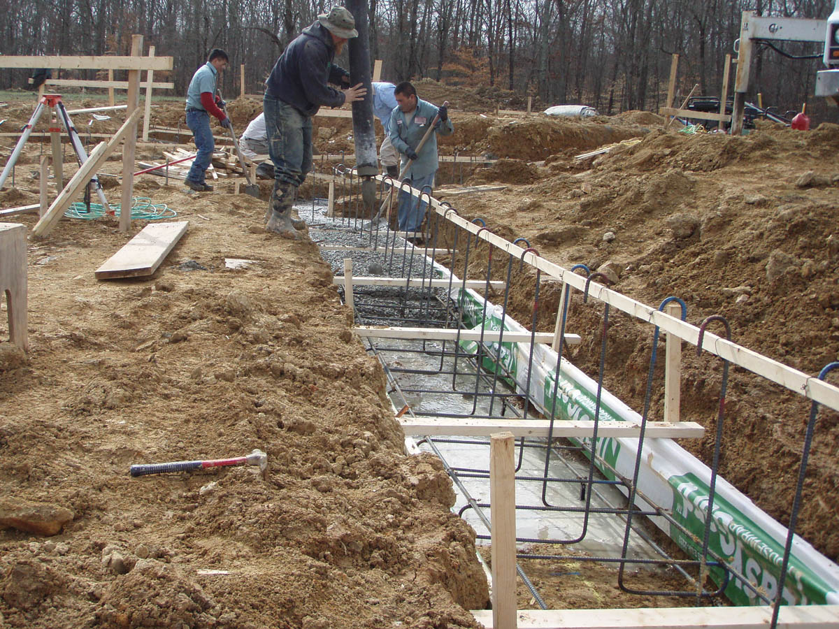 ICF Footing Detail
