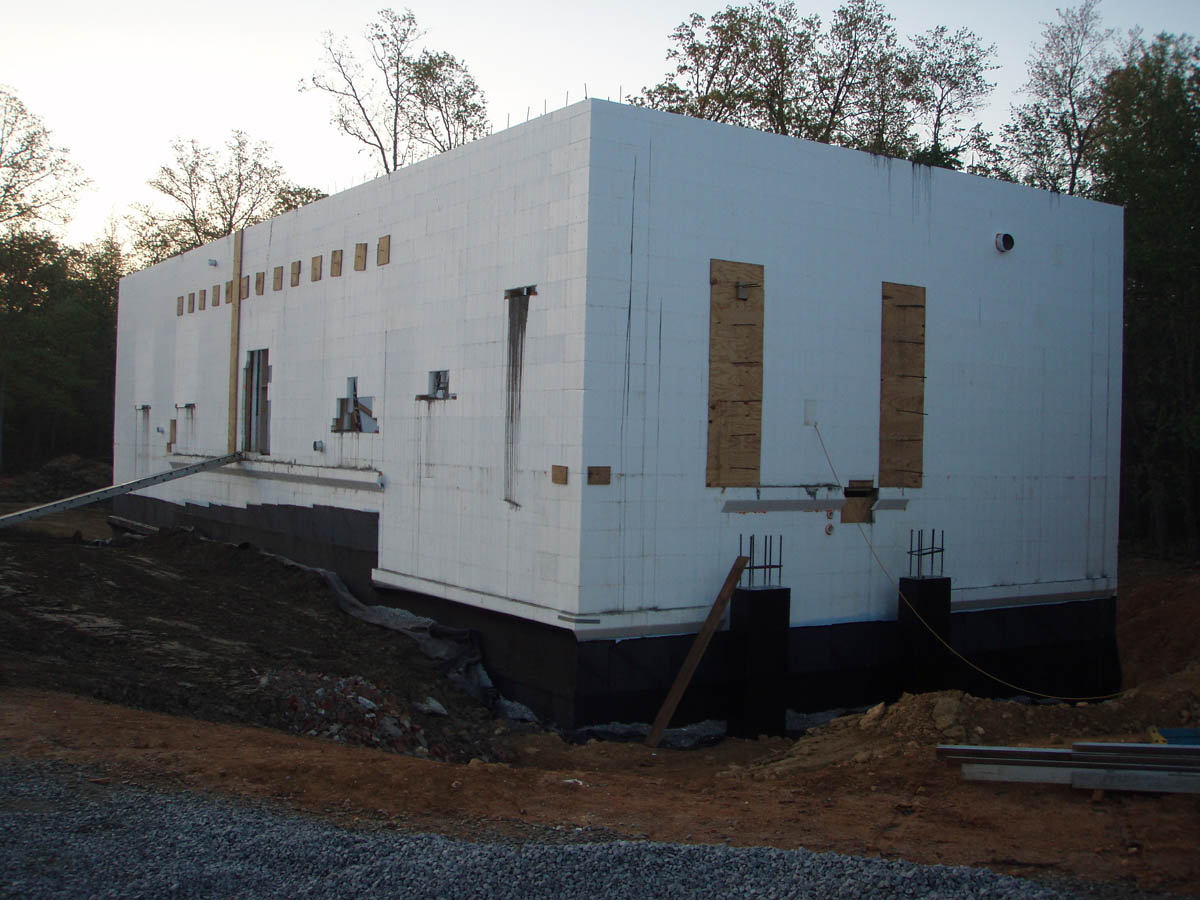 2 story ICF with Hambro Floor