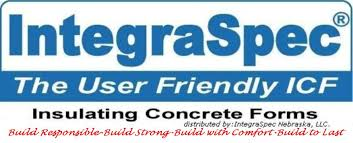 building icf - integraspec - the user friendly ICF - Insulating Concrete Forms