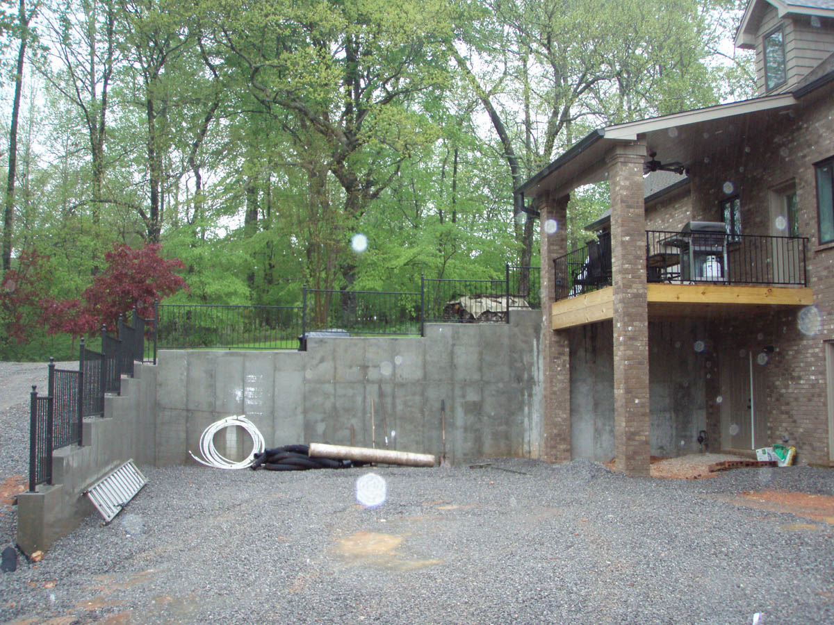Icf home with basement the hybrid group inc for What is an icf home