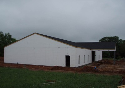 Murfreesboro, TN Church with ICF - The Hybrid Group Inc.