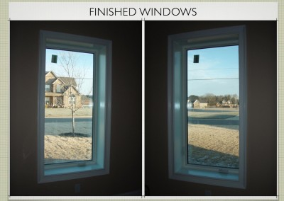 Finished Windows - Two Story ICF Home - The Hybrid Group Inc. - Murfreesboro Tennessee