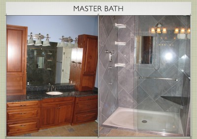 Master Bath -  Two Story ICF Home - The Hybrid Group Inc. - Murfreesboro Tennessee