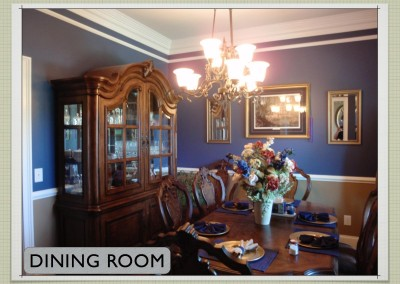 Dining Room -  Two Story ICF Home - The Hybrid Group Inc. - Murfreesboro Tennessee