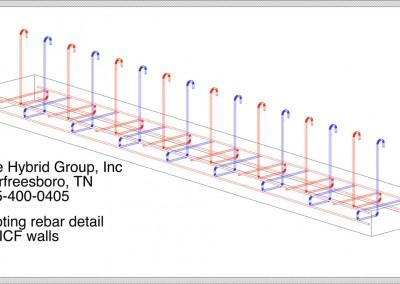 footing/wall temp, ICF Footing Detail