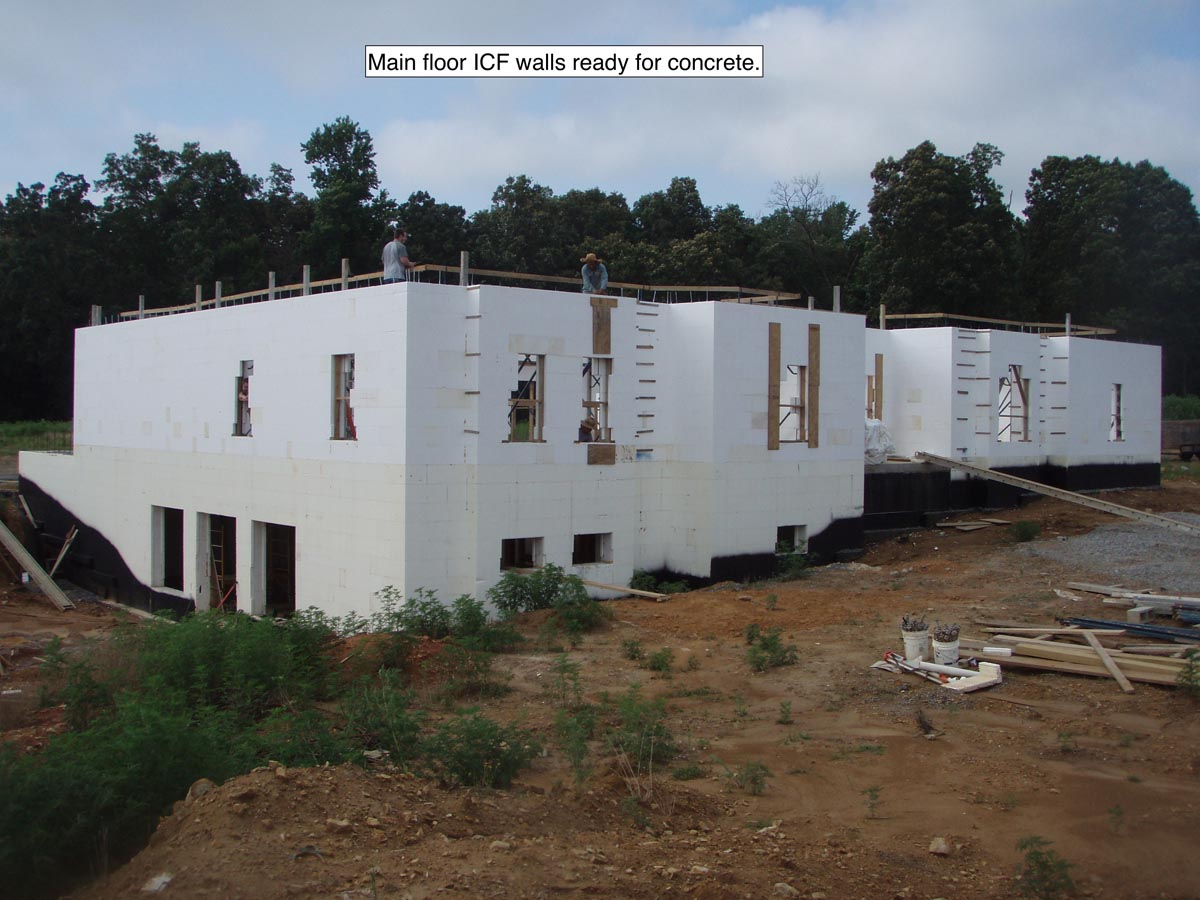 ICF Home with Basement