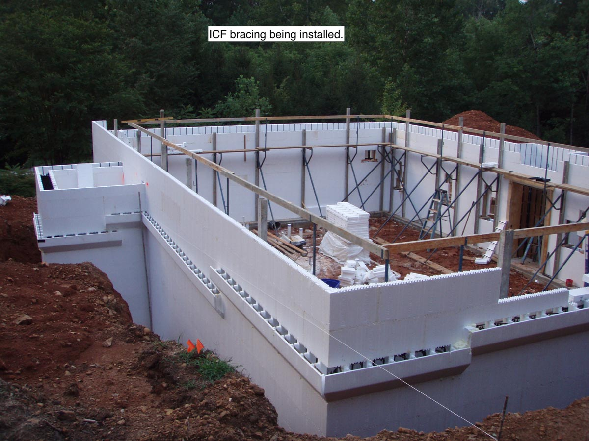 ICF Home with Porch and Basement